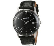 Herren-Armbanduhr Analog Quarz Leder 11110729