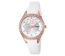 Damen-Armbanduhr Analog Quarz Plastik K5660/1