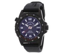 Armbanduhr XL Professional Diver Blacky Analog Automatik Silikon 6427-bk-s1-7
