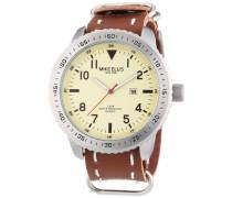 Herren-Armbanduhr XL Analog Quarz 17986B/1