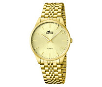 Armbanduhr XL Analog Quarz Edelstahl 15885/3