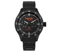 Analog Quarz Uhr mit Silikon Armband SYG210BB