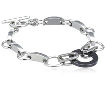Damen Armband Edelstahl Acryl 19.0 cm S173 IPS