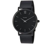 Damen Armbanduhr Analog Quarz Edelstahl CL30011