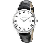 Analog Quarz Uhr mit Leder Armband 5488-STC-00300