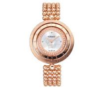 Damen-Armbanduhr Analog Quarz 80Q81SD497 S080