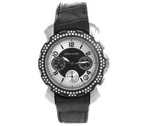 Damen-Armbanduhr Analog Quarz Leder PC100192F01