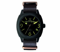 Herren-Armbanduhr XL Analog Quarz Leder IC03BR