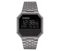 Uhr Digital Quarz mit Edelstahlarmband – A158632