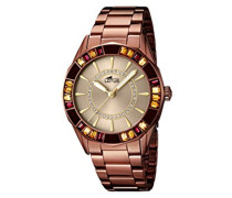 Damen-Armbanduhr Analog Quarz Edelstahl 15894/1
