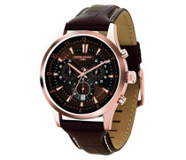 Armbanduhren Chronograph Quarz Edelstahl JG6800-24