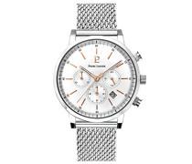 Analog Quarz Uhr mit massives Edelstahl Armband 205G108