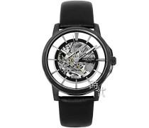 Analog Automatik Uhr mit Leder Armband KC50227003