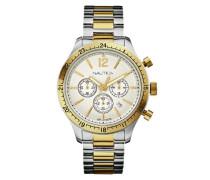 Armbanduhr XL Chronograph Quarz Edelstahl A19617G