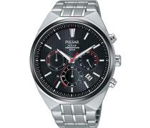 Herren-Armbanduhr Solar Analog Edelstahl PZ5011X1