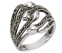 Ringe 925_Sterling_Silber mit Asscherschliff Markasit '- Ringgröße 53 (16.9) 360271691-017