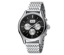Chronograph Quarz Uhr mit Edelstahl Armband JC1G038M0075