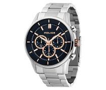 Chronograph Quarz Uhr mit Edelstahl Armband 15001JS/03M