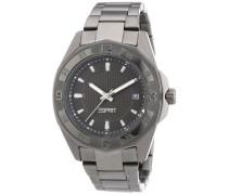 Armbanduhr XL Analog Quarz Edelstahl beschichtet A.ES102982005