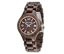 Armbanduhr NO LIMITS NAT Analog Quarz Holz R3253478012
