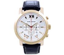 Damen-Armbanduhr Analog Quarz Leder DH02421AAR