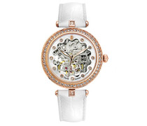 Analog Automatik Uhr mit Leder Armband 316B990