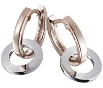 Damen-Ohrhänger Ringe Bicolor 375 Gold Schmuck