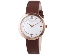 Damen-Armbanduhr XS Analog Quarz Leder 12100594