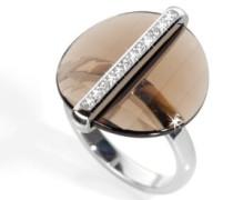 Damen-Ring Edestahl Decò
