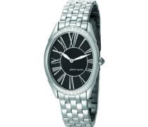 Damen-Armbanduhr La Reine Analog Quarz Edelstahl