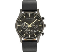 Analog Quarz Uhr mit Leder Armband KC15106004