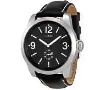 Herren-Armbanduhr XL Analog Leder W10248G1