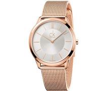 Analog Quarz Uhr mit Edelstahl Armband K3M21626