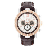 Matese Chronograph braun/Silber/roségoldfarben CRA142STR04BR