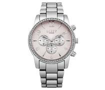 Datum klassisch Quarz Uhr mit Aluminium Armband LP562