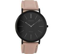 Damen Digital Quarz Uhr mit Leder Armband C8151