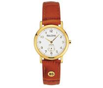 Bruno Söhnle Analog Quarz Uhr mit Leder Armband 17-33035-921