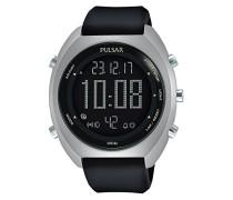 Digital Quarz Uhr mit Leder Armband P5A019X1