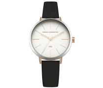 Datum klassisch Quarz Uhr mit Leder Armband FC1316BRG