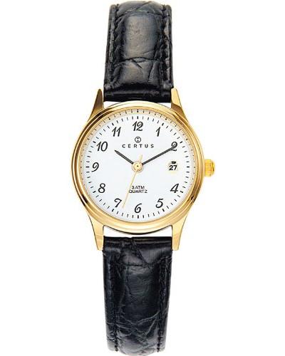 646459 Armbanduhr, Quarz, Analog, Zifferblatt weiß