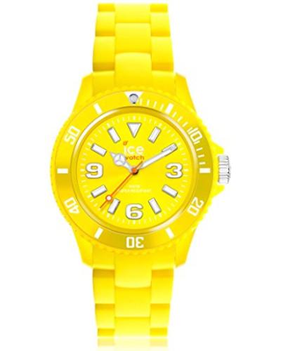 ICE solid Yellow - Gelbe Herrenuhr mit Plastikarmband - 000626 (Medium)