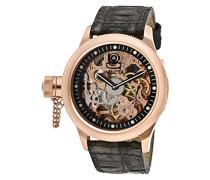 10365 Russian Diver Uhr Edelstahl mechanisch schwarzen Zifferblat