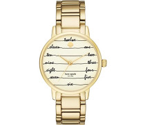 Analog Quarz Uhr mit Edelstahl Armband KSW1060