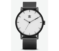 Analog Quarz Smart Watch Armbanduhr mit Edelstahl Armband Z04-005-00