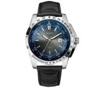 Herren-Armbanduhr XL Analog Leder W10231G1