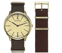 Herren-Armbanduhr La Gloire Analog Quarz Nylon