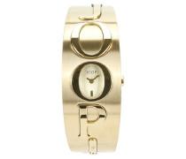 ! Armbanduhr XS Analog Quarz Edelstahl JP100222F04U