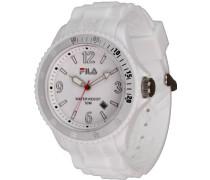 Unisex-Armbanduhr Analog Quarz Weiß FA-1023-62