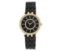 Analog Klassisch Quarz Uhr mit Plastik Armband AK/N2620BKGB