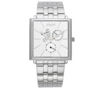 Armbanduhr Analog Quarz Edelstahl M11702-122